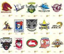 2005 SELECT NRL CLUB LOGO JUMBO CARDS SET! ONLY 1500 SERIAL NUMBERED SETS MADE