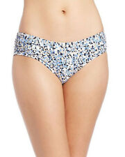 NEW Michael Kors Navy Multi Shirred Hipster Bikini Bottom XS XSmall MM2A949
