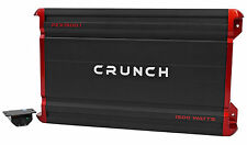 Crunch PZX1500.1 1500 Watt Mono Class A/B Car Audio Amplifier Stereo Amp