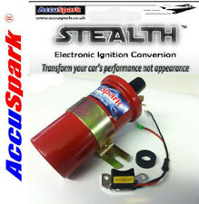 AccuSpark Electronic Ignition Kit & Red Sports coil for Morris Minor With 25D4