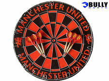 Manchester United dartboard & darts set