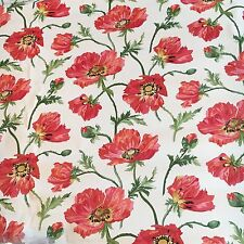 Motif Vintage Wallpaper Floral Red Pink Flowers Vines