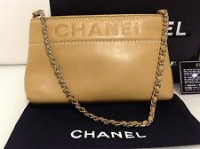 Authentic Small Chanel Shoulder Clutch Bag. Ex Cond. Card Dustbag & Box