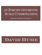 An enquiry concerning human understanding Classic Book On CD
