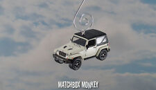 2016 Jeep Wrangler Custom Christmas Ornament 1/64 75th Anniversary Soft Top '16