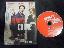 "USED DVD   ""Henry's Crime"""