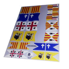 Banderas Corona de Aragón - Crown of Aragon flags - Playmobil's Custom Stickers