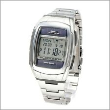 Casio DBE30D-1A Mens Data Bank Tough Solar Stainless Steel 30 Page Watch 50M
