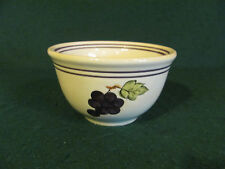 """""""TABLETOPS LIFESTYLE"""" HAND PAINTED & HAND CRAFTED BOWL GRAPE MOTIF"""