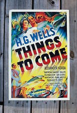 THINGS TO COME Lobby Card Movie Poster H.G. Wells