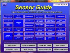 Engine Sensor Guide Diagnosis & Training Software
