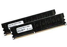 2x 4gb 8gb ECC unbuffered memoria RAM ddr3 1600 MHz UDIMM pc3-12800e