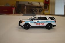 FOR CODE 3 KITBASH CHICAGO POLICE DEPT FORD CRUISER  1/64 SCALE