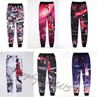 Men Women Jordan Star jogger 3D Shot dunk Gym Track Sweat jogging pants Trousers