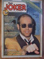 MUSIK JOKER 26 - 1977 Elton John Michael Holm Rodger Whittaker Gary Wright Heart