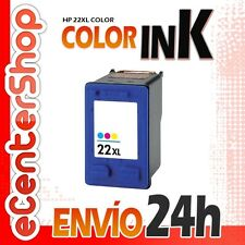Cartucho Tinta Color HP 22XL Reman HP Deskjet F380 24H