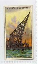 (Jd473-100) Will's, Engineering Wonders , Revolving Floating Crane , 1927, #37