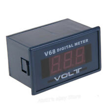 "0.56"" Red LED Digital Voltmeter Voltage Panel Meter AC 0-600V AC220V V68A"