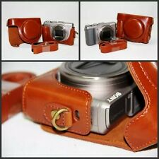 Retro Vintage Leather Camera case bag for Sony Cyber-shot DSC-HX50 HX60 HX30