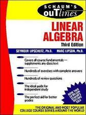 Schaum's Outline of Linear Algebra-ExLibrary