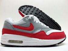 NIKE AIR MAX 1 ID WHITE/SPORT RED-COOL GREY SIZE WOMEN'S 6 [823375-994]