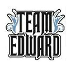 TWILIGHT TEAM EDWARD STICKER Brand New