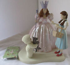 SNOWBABIES THE WIZARD OF OZ '...AND TOTO TOO' DEPARTMENT 56 FIGURINE - AS IS