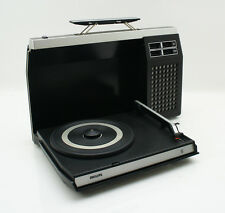 Philips GF 423 Batterie Plattenspieler Turntable Record Player Vintage