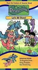 Dragon Tales - Let's All Share! (VHS, 2000)