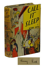 Call it Sleep ~ SIGNED by HENRY ROTH ~ First Edition ~ 2nd Printing 1935 Ballou