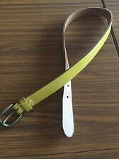 Gorman Ladies Leather Belt Olive Green Size 1 Small 8