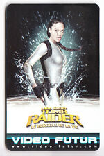 CINEMA  CARTE / CARD .. VIDEO FUTUR 245 LARA CROFT TOMB RAIDER ANGELINA JOLIE