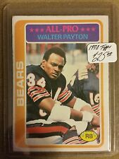 1978 Topps #200 Walter Payton AP/UER (Born 7/5/54;/should be 7/25/54)