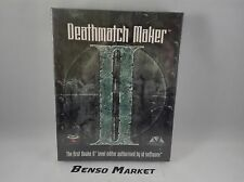 DEATHMATCH MAKER II LEVEL EDITOR QUAKE 2 PC BIG BOX EUR ITALIANO NUOVO SIGILLATO