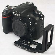 Plateau Rapide Camera Support Poignée pour Trépied Rotule Ballhead Nikon D750