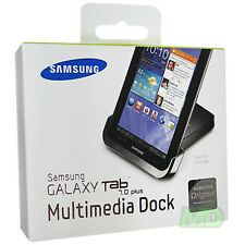 NEW Original SAMSUNG GALAXY TAB 7.0 Plus MULTIMEDIA DESKTOP Cradle Dock OEM RET