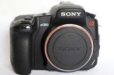 Sony α (alpha) DSLR-A350 14.2 MP Digital SLR Camera - Black (Body only)