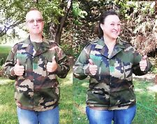 New French Military Surplus Camo Jacket 2XL Tactical Practical SAME DAY SHIPPING