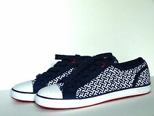 TOMMY HILFIGER Women's Sneakers  PAMEE2 Shoes dark blue white  Size 6 NEW