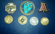 Army challenge coins. Lot of 7