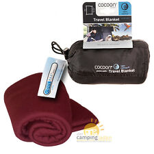 Cocoon Coolmax Travel Blanket Reisedecke 140x180cm monks red atmungsaktive Decke