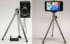 DP 2in1 camera + phone mini tripod for Canon Powershot ELPH 360 HS 190 180 mount