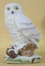 Schneeeule Eule Kauz porzellanfigur keramikfigur vogel  Tierfigur  figur 3