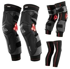 GINOCCHIERE + SOTTOGINOCCHIERE ACERBIS X-STRONG KNEE GUARDS TRIPLO SNODO