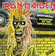 Iron Maiden Women In Uniform , Drifter (live) Phantom Of The Opera  German 12""