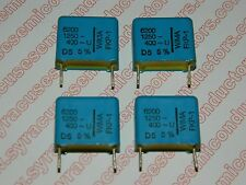 Wima FKP-1 / 6200pf 1250 Volt Film Capacitor Lot of 4 pieces