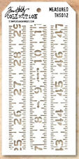 Tim Holtz Collection Measured Layering Stencil THS012