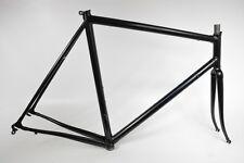 Basso Konos Rennrad Stahl-Rahmen, Pulverbeschichtet, schwarz, RH-60cm (33)