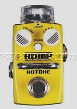 Samson Hotone Skyline Series KOMP Opto-Compressor Guitar Effects Pedal NEW!