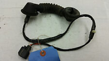 OEM 00 Ford F250 Super Duty Rear Driver's Door Wiring Harness & Rubber Boot LH
